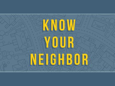 Vision 2019: Know Your Neighbor | Lakeland Baptist Church